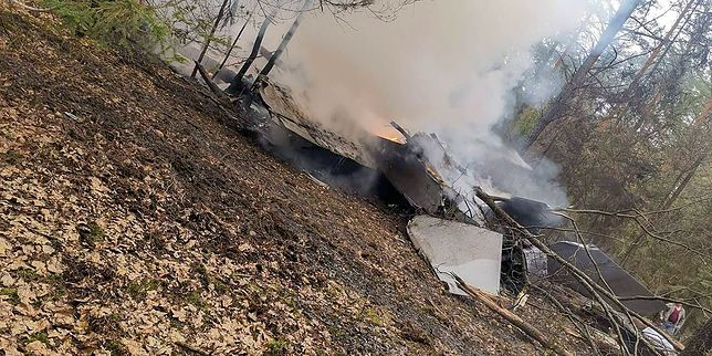 Katastrofa wojskowego samolotu w Stoczku