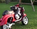 Vespa z silnikiem 600cc