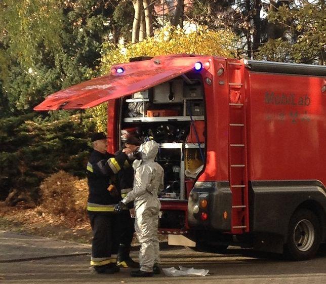 Po przewietrzeniu pomieszczenia przez straż pożarną mieszanina nie stanowiła zagrożenia