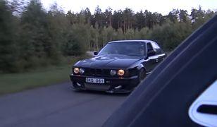 BMW niszczące veyrona