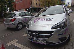 Wypożyczanie samochodów na minuty w Krakowie. Niedługo w kolejnych miastach