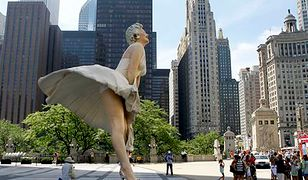 Gigantyczna Marilyn atrakcją Chicago