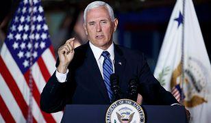 Wiceprezydent USA w Polsce. Mike Pence to ultrakonserwatysta, który nie jada posiłków z kobietami