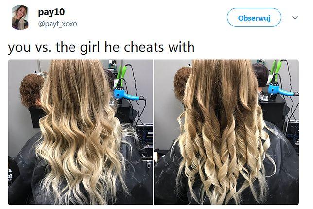 Wrzuciła zestawienie fryzur. Kobiety się śmieją, mężczyźni nie wiedzą, o co chodzi