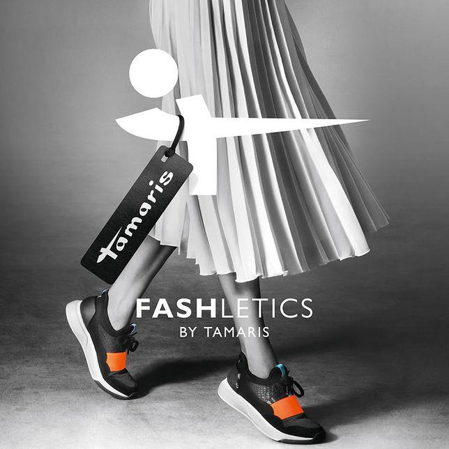 Buty z linii Fashletics by Tamaris