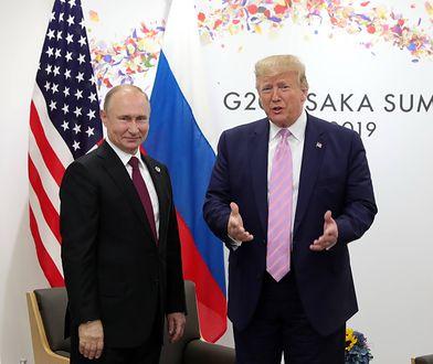 Donald Trump znów karze Rosję