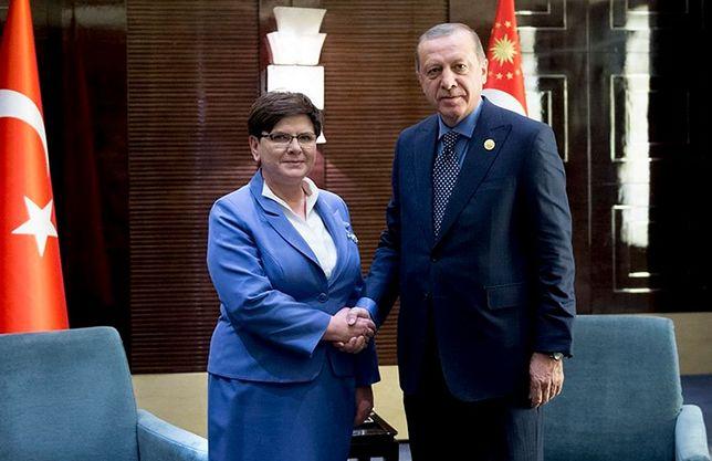 Beata Szydło spotkała się z Recepem Erdoganem. Wiemy, o czym rozmawiali