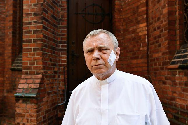 Ks. Aleksander Ziejewski po napadzie