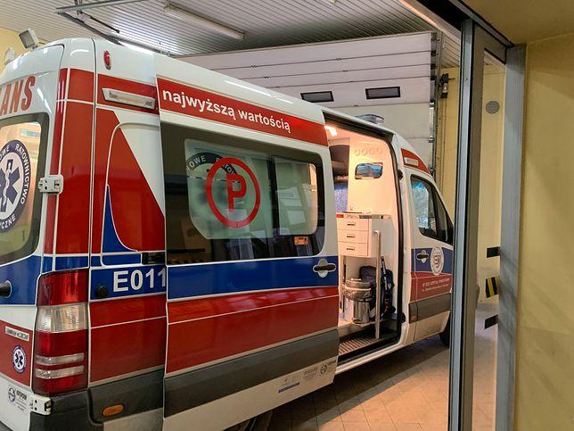 Opoczno. Pijany pacjent zaatakował ratowniczkę medyczną
