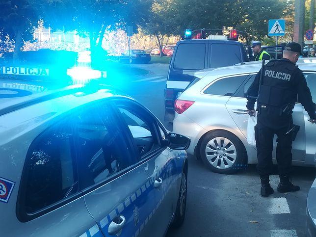 Policjanci z Lublina złapali mężczyznę po pościgu