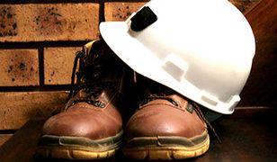 Protest ratowników górniczych