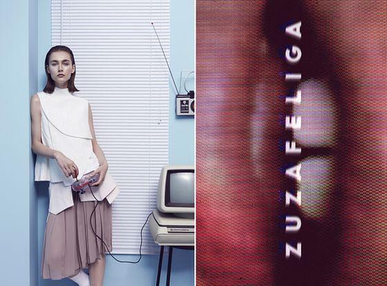 Zuza Feliga - pomysłowa kampania młodej polskiej projektantki