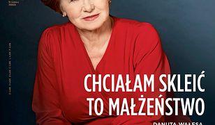 """Danuta Wałęsa wraz z synem Jarosławem udzielili """"Newsweekowi"""" wywiadu"""