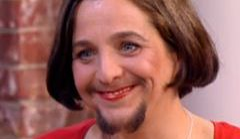 Oto Miriam: kobieta z brodą!