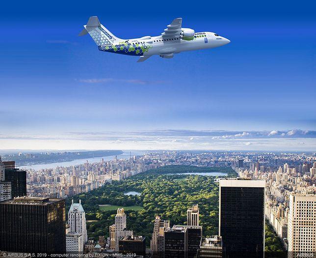 Elektryczny samolot Airbusa