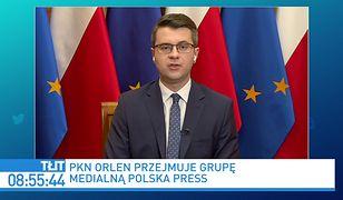 Orlen przejmuje Polska Press. Komentarz rzecznika rządu Piotra Müllera