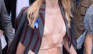 Sukienka Amber Heard nie chciała współpracować z gwiazdą na czerwonym dywanie w Cannes
