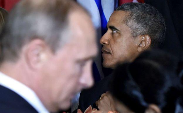 Barack Obama i Władimir Putin spotkali się po ponad dwóch latach