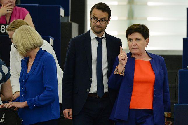 Beata Szydło zaatakowała Radosława Sikorskiego w Parlamencie Europejskim