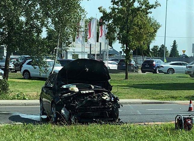 Wypadek na ulicy Drewny
