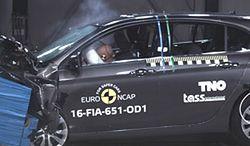 Kiepski wynik Fiata Tipo w testach zderzeniowych