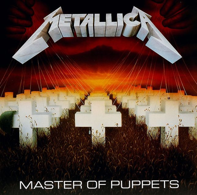 "Metallica - ""Master of Puppets"" (okładka albumu)"