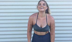 Blogerka pokazała prawdę o kobiecym ciele po treningu! Nie jest pięknie