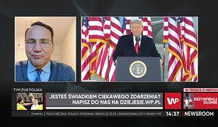 Sikorski: prezydentura Bidena będzie znacznie lepsza od prezydentury Trumpa
