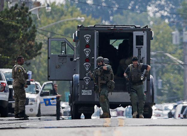 Policyjna obława w USA