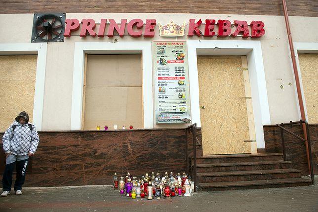 Miejsce, w którym zginął 21-letni Daniel.