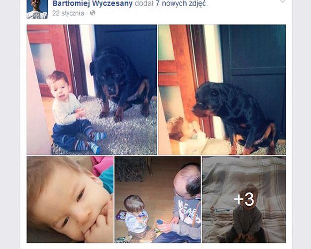 Profil na Facebooku taty Filipa
