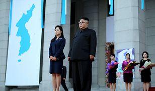 Ri Sol Ju i Kim Dzong Un.