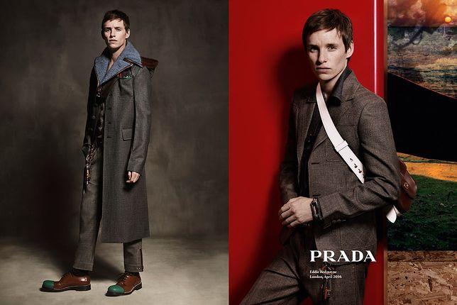 Eddie Redmayne w roli modela