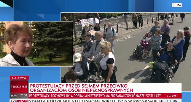 """W TVP Info wywiad z """"matką"""" przeciwną strajkowi w Sejmie"""