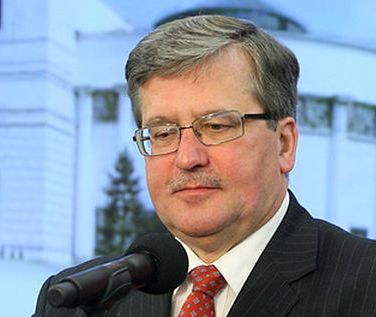Tyle zarabia prezydent Bronisław Komorowski