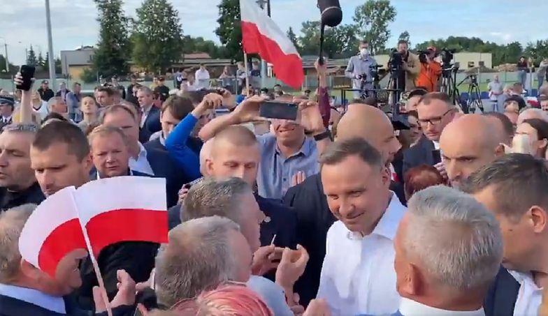 Koronawirus na spotkaniu z Andrzejem Dudą. Sanepid apeluje
