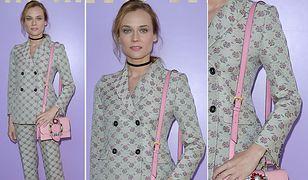 Diane Kruger na Paris Fashion Week
