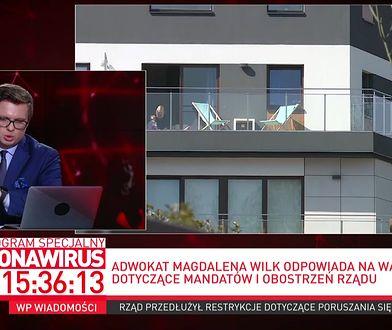 Koronawirus w Polsce. Adwokat wyjaśnia, co mówić służbom, gdy spytają o cel wyjścia z domu