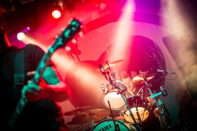 Rise Against na koncercie w Warszawie