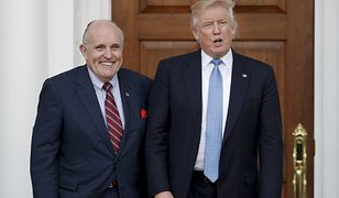 Rudolph Giuliani wezwany przez trzy komisje. Ma złożyć zeznania w ramach procedury impeachmentu Donalda Trumpa