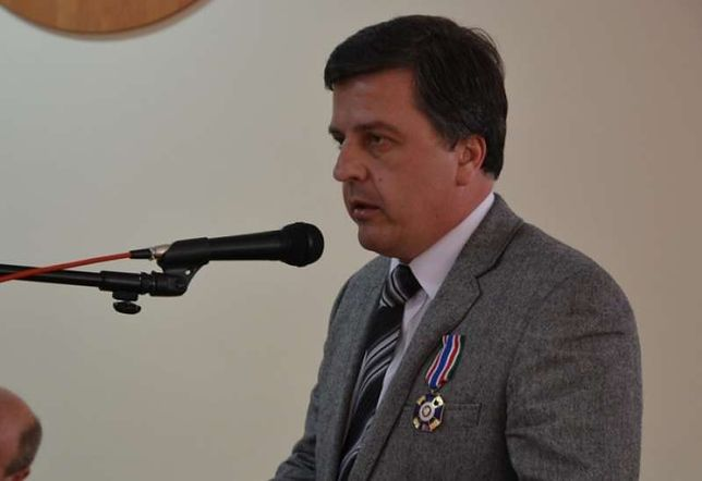 Sławomir Hajos, przyszły poseł Prawa i Sprawiedliwości.