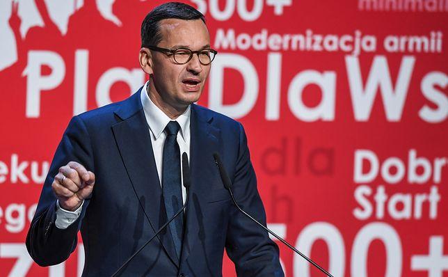 Mateusz Morawiecki na konwencji wyborczej PiS w Toruniu porównał się do Batmana.