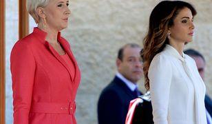 Agata Duda i królowa Rania. Pierwsza dama z wizytą w Jordanii