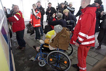 Rozpoczęła się ewakuacja pacjentów szpitala w Radomiu