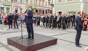 Prezydent Andrzej Duda został honorowym obywatelem Środy Śląskiej