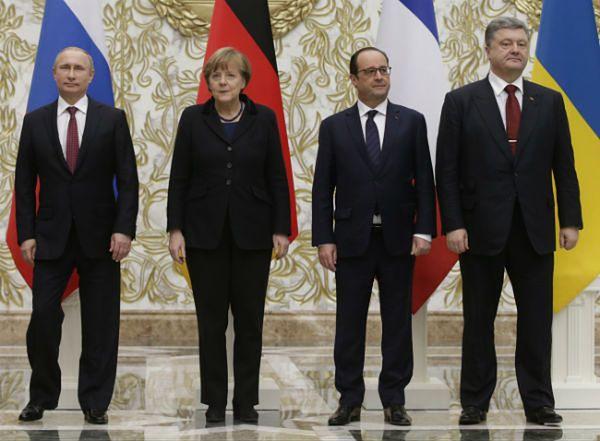 """""""Sueddeutsche Zeitung"""": dyplomatyczne zabiegi na Ukrainie farsą"""