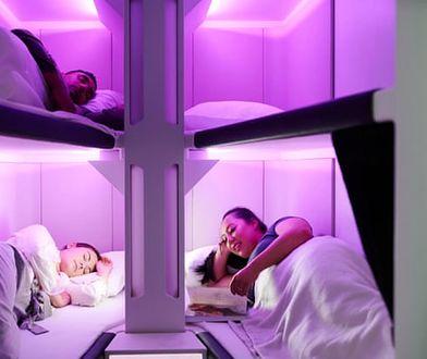 Pasażerowie korzystający z kabin do spania, będą mogli cieszyć się pełnym komfortem w podróży