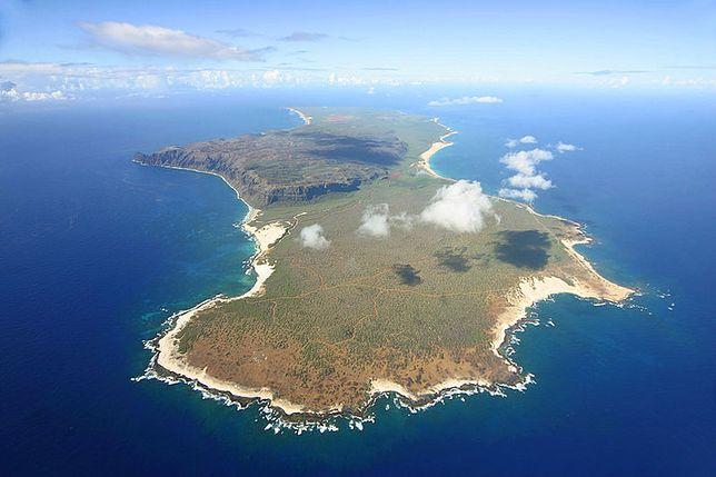 Odizolowany od świata zakątek na Hawajach