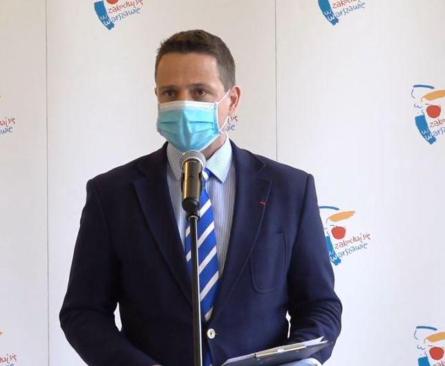 Koronawirus w Warszawie. Prezydent o bezpieczeństwie w ośrodkach sportowych i instytucjach kultury