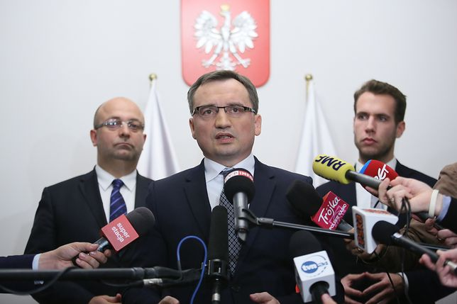 Ziobro uznał decyzję KRS za sprzeczną z interesem społeczeństwa
